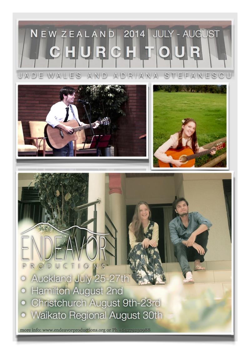 Endeavor Productions Flier jpg